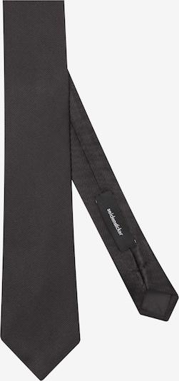 SEIDENSTICKER Krawatte ' Schwarze Rose ' in grau, Produktansicht