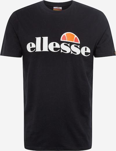 ELLESSE Shirt in de kleur Sinaasappel / Zwart / Wit, Productweergave