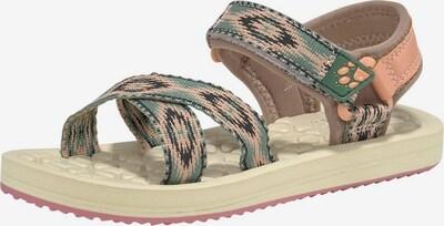 JACK WOLFSKIN Sandale in beige / pink, Produktansicht