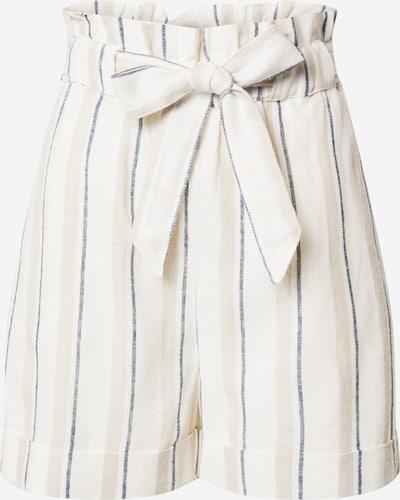 Gina Tricot Shorts 'Linda' in beige / navy / naturweiß, Produktansicht