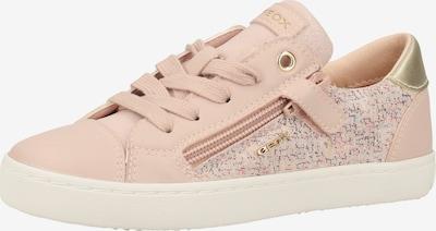 GEOX Sneaker in gold / hellpink, Produktansicht