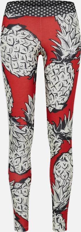 Leggings Weiß Adidas Rot Originals 'tight' xPq6gWcw0Z
