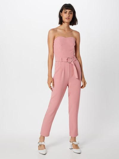 VILA Overall 'VILYCA' in rosa: Frontalansicht