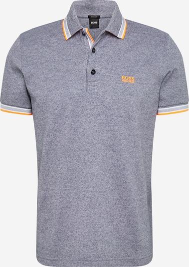 BOSS Tričko 'Paddy' - námornícka modrá / oranžová / biela, Produkt