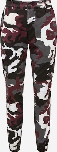 Pantaloni cu buzunare Urban Classics pe roșu vin, Vizualizare produs