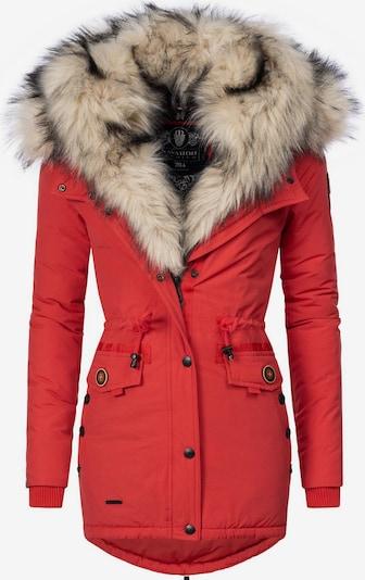 NAVAHOO Manteau d'hiver 'Sweety' en rouge clair, Vue avec produit