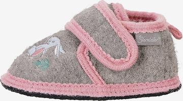 STERNTALER Slippers in Grey