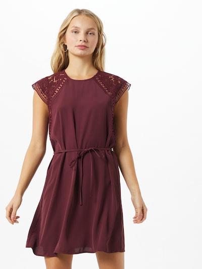 ONLY Kleid 'Felicia' in bordeaux, Modelansicht