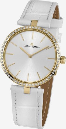 Jacques Lemans Uhr 'Milano, 1-2024K' in weiß, Produktansicht
