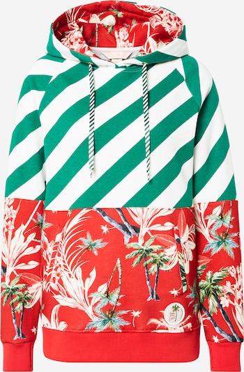 Femi Stories Majica 'KENTA'   mešane barve / rdeča barva, Prikaz izdelka