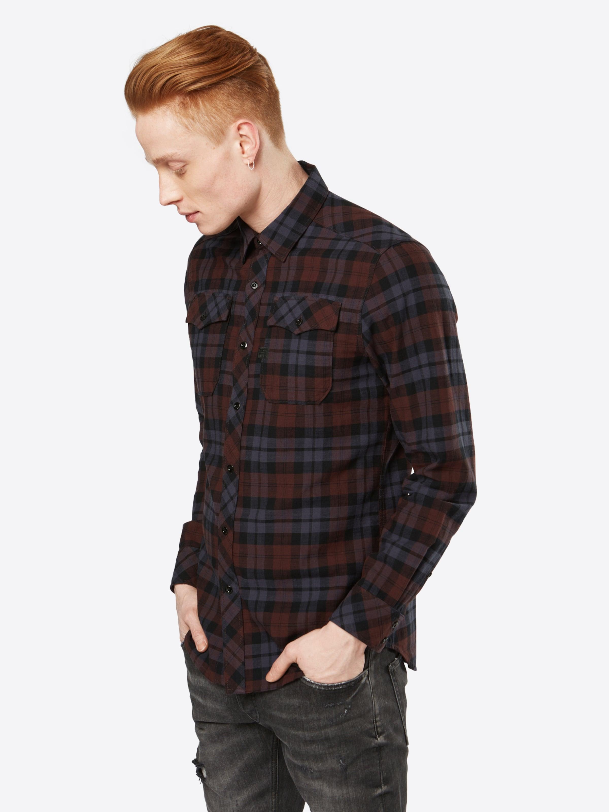 G-STAR RAW Hemd 'Landoh Shirt l/s' Verkauf Großhandelspreis Beliebt Wählen Sie Eine Beste Günstig Kaufen Low-Cost Billig Verkauf Kosten 0V9ID