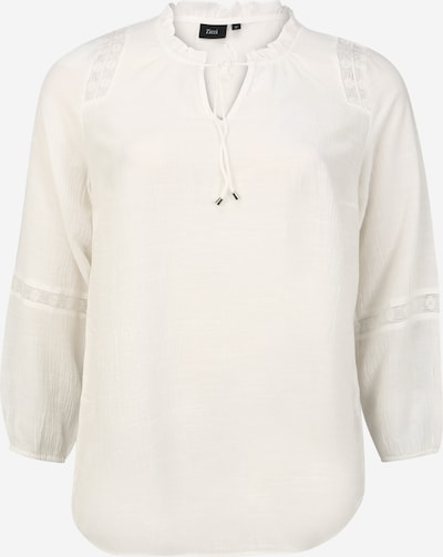 Zizzi Bluza 'MIVONNE' | bela barva, Prikaz izdelka
