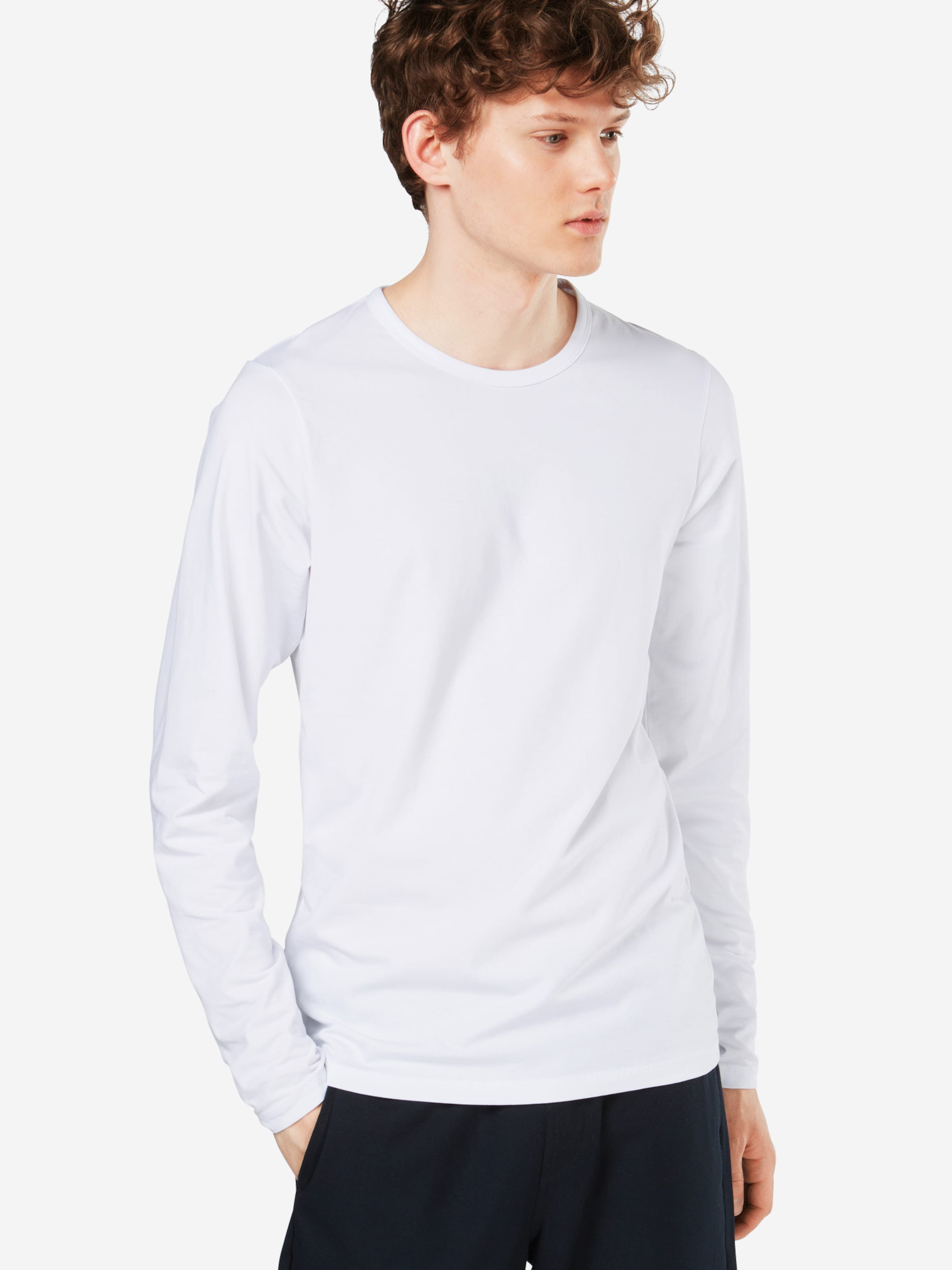 neck O Jackamp; 'basic Tee L Noos' s T Blanc shirt En Jones rdxoeCB