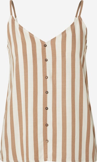 ONLY Top 'STRID' in beige / offwhite, Produktansicht