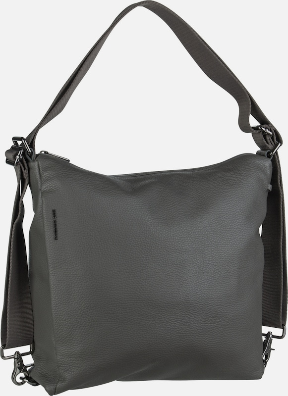MANDARINA DUCK Handtasche ' Mellow Leather Hobo Backpack FZT72 ' in grau, Produktansicht