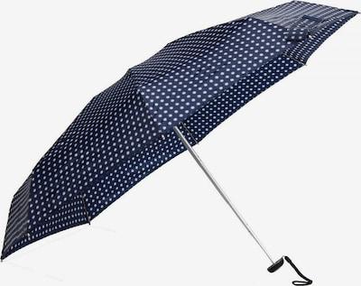 KNIRPS Taschenschirm 'Manual X1' in nachtblau / silber / weiß, Produktansicht