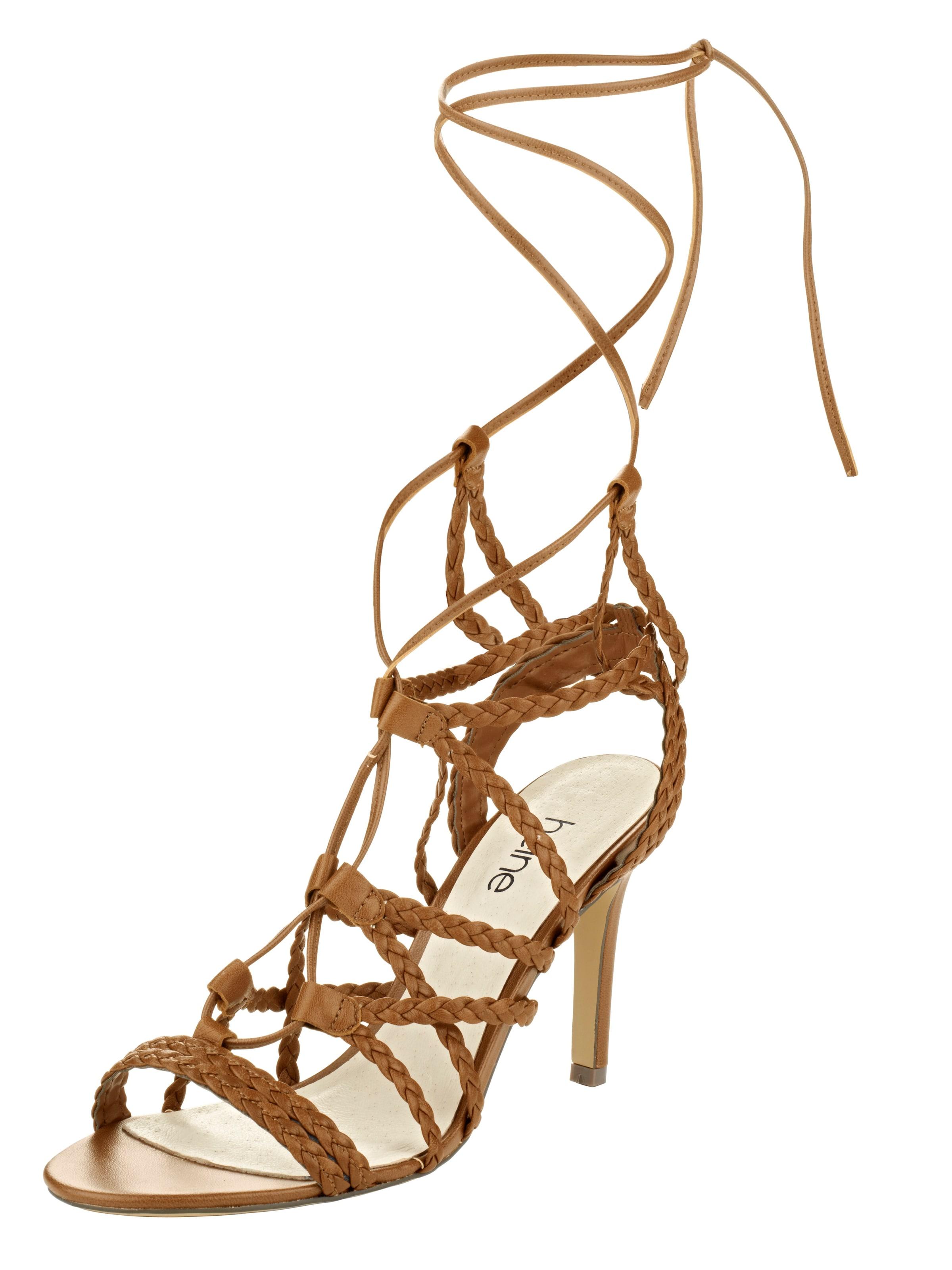 Haltbare Mode billige billige Mode Schuhe heine | Sandalette Schuhe Gut getragene Schuhe 22b573