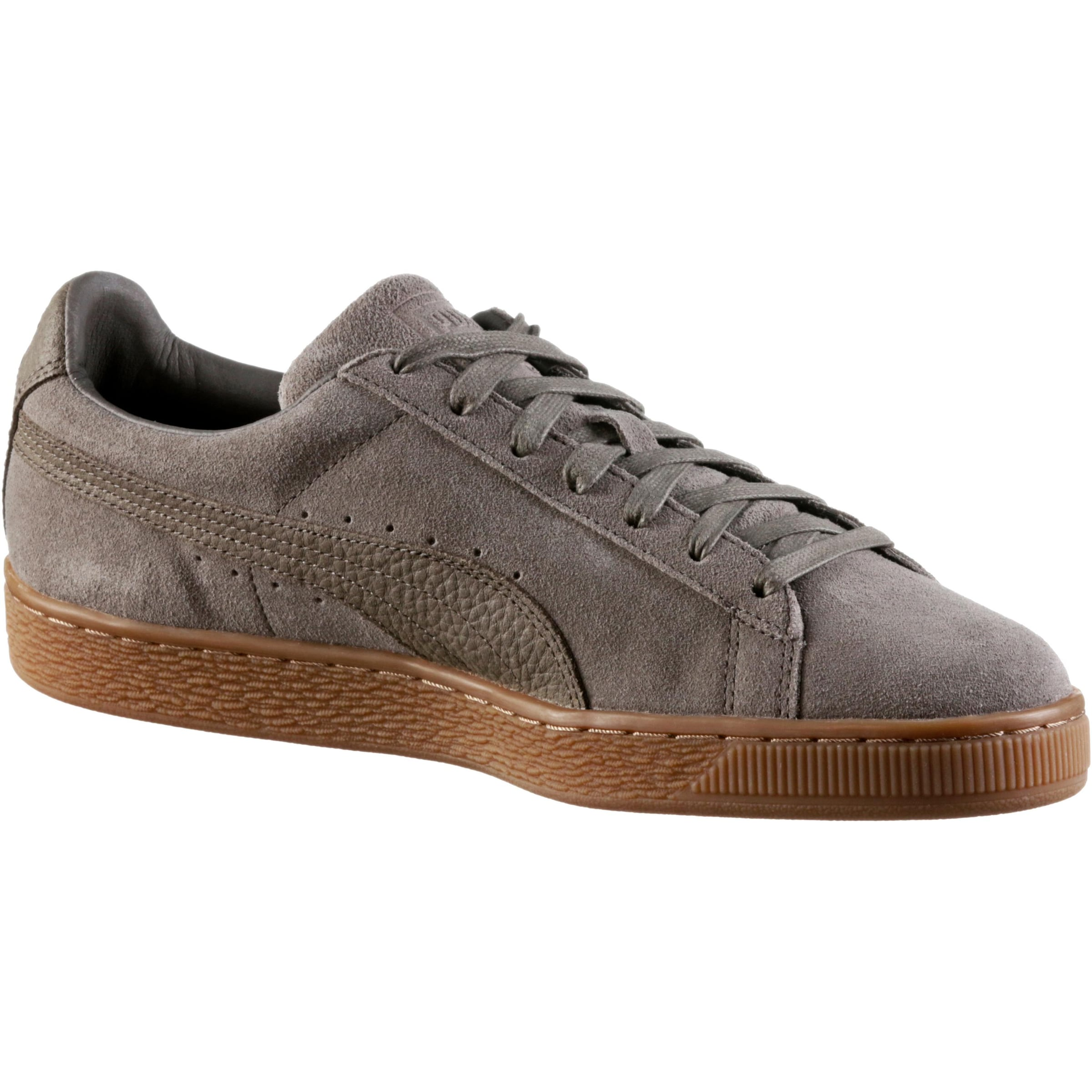 Natural Baskets Taupe Classic En Puma Basses 'suede Warmth' ZuPkXi