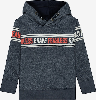 STACCATO Sweatshirt in taubenblau / rot / weiß, Produktansicht