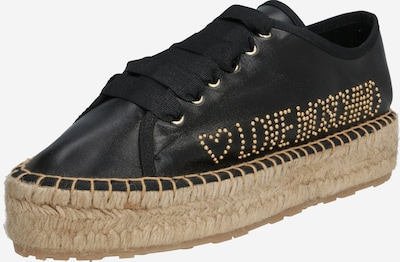 Love Moschino Espadrilles 'ROPE LOVE' in gold / schwarz, Produktansicht