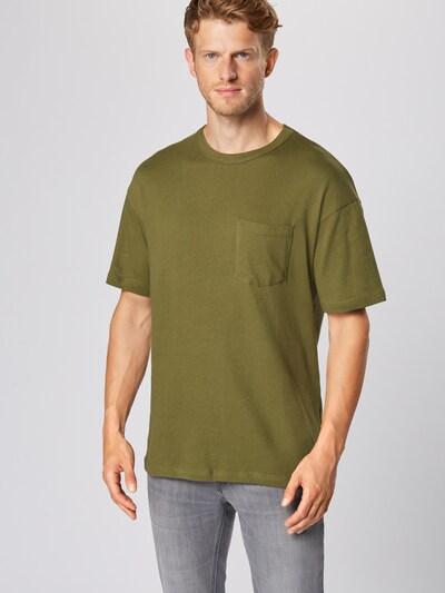 JACK & JONES Shirt 'LUCAS' in de kleur Donkergroen: Vooraanzicht