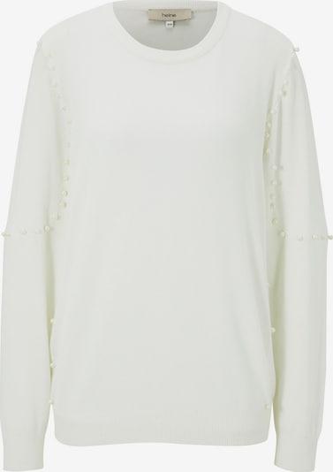 heine Sweter w kolorze offwhitem: Widok z przodu