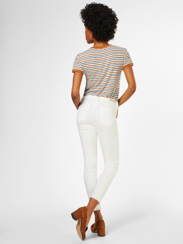 En Pantalon Denim Tom 'nela' Blanc Cassé Tailor WED9IYH2