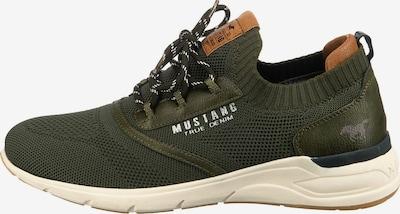 MUSTANG Sneakers in braun / grün, Produktansicht