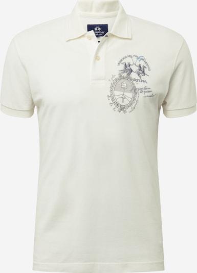 La Martina T-Shirt 'QUITO' en blanc, Vue avec produit