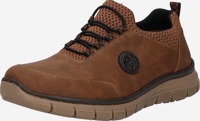 RIEKER Sportske cipele na vezanje u toplo smeđa / crna, Pregled proizvoda