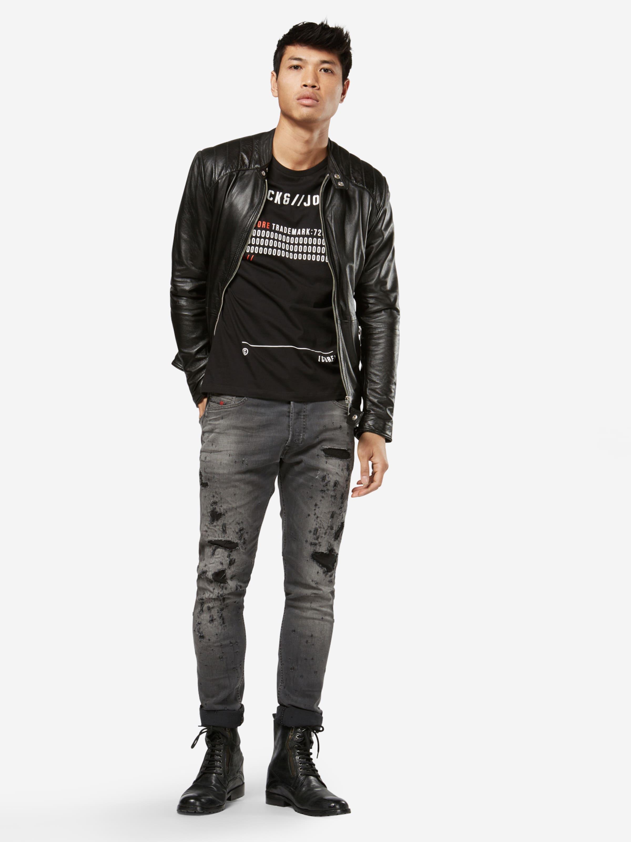 JACK & JONES T-Shirt 'JCOSOREN TEE SS CREW NECK' 2018 Neuer Online-Verkauf 2018 Neu Zu Verkaufen e5BI08TPX