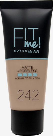 MAYBELLINE New York Foundation 'Fit me! Matte+Poreless' in camel, Produktansicht