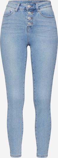 Noisy may Jeans 'NMCALLIE HW SKINNY ANKLE JEANS JJ034LB' in de kleur Blauw denim / Lichtblauw, Productweergave