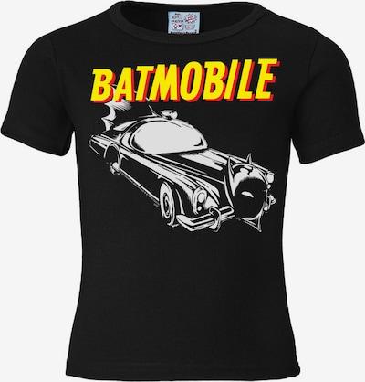 LOGOSHIRT Shirt in de kleur Geel / Zwart / Wit, Productweergave