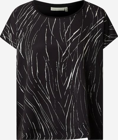 InWear T-Shirt 'Sicily' in schwarz / weiß: Frontalansicht