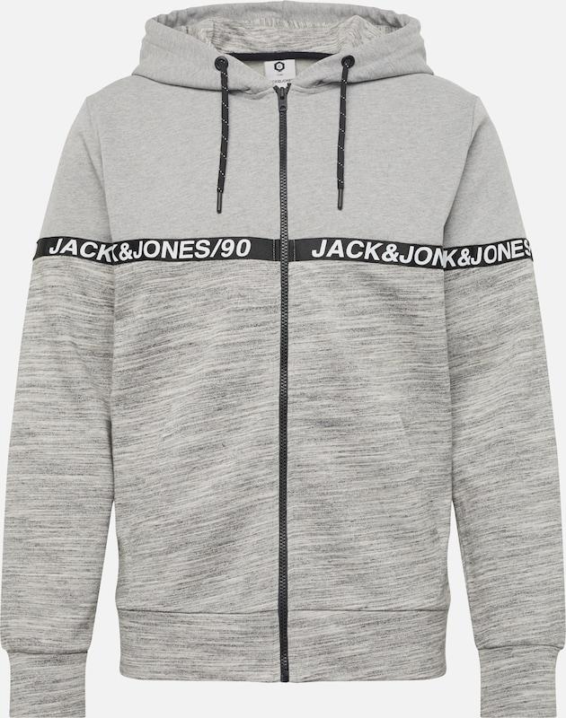De Jackamp; Gris ChinéNoir Blanc Jones Veste Survêtement 'jcoian' En DeE2IYbWH9