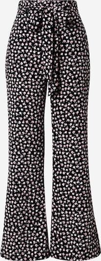 Pantaloni cutați Tally Weijl pe bej / roz / pitaya / negru, Vizualizare produs