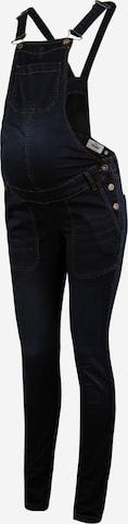 LOVE2WAIT Tuinbroek jeans 'Salopette' in Blauw