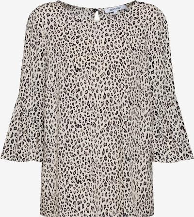 ABOUT YOU Bluse 'Maren' in beige / braun / naturweiß: Frontalansicht