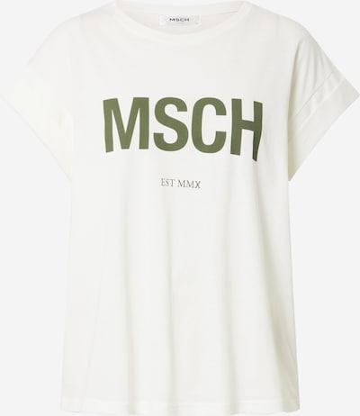 MOSS COPENHAGEN Tričko 'Alva' - krémová / zelená, Produkt