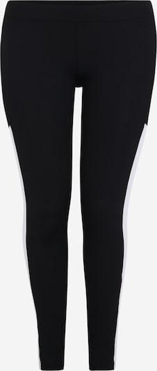 Leggings Urban Classics Curvy di colore nero / bianco, Visualizzazione prodotti