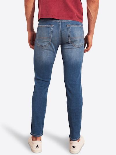 HOLLISTER Jeans 'BTS19-SKNY BRIGHT' in de kleur Blauw denim: Achteraanzicht