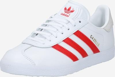 piros / fehér ADIDAS ORIGINALS Rövid szárú edzőcipők 'Gazelle', Termék nézet