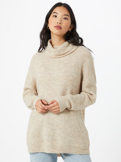 ONLY Pullover 'Mirna' in stone, Modelansicht