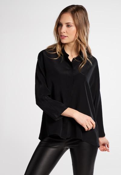 ETERNA Blouse in de kleur Zwart, Modelweergave