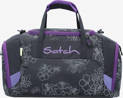 Satch Tasche in grau / dunkellila / schwarz, Produktansicht