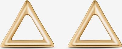 QOOQI Ohrstecker in gold, Produktansicht