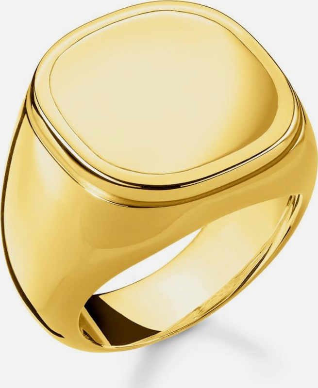 Thomas Sabo Ring 'Classic' in gold: Frontalansicht