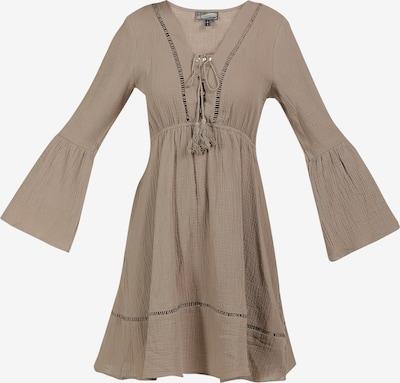 DreiMaster Vintage Kleid in hellbraun, Produktansicht