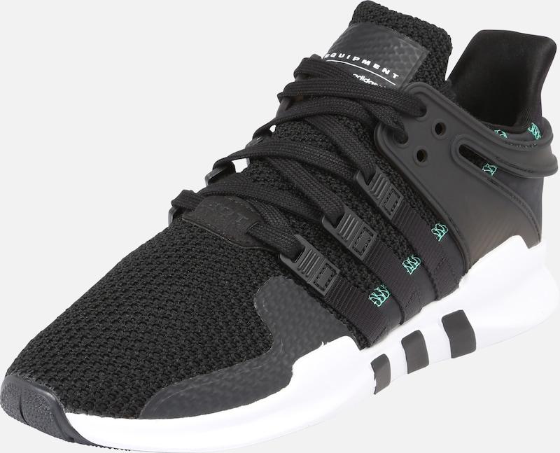 Originals 'support' Sneaker Adidas Schwarz Weiß 1PRwq